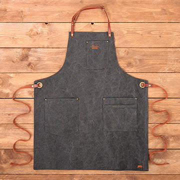 Apron No.325 - Black