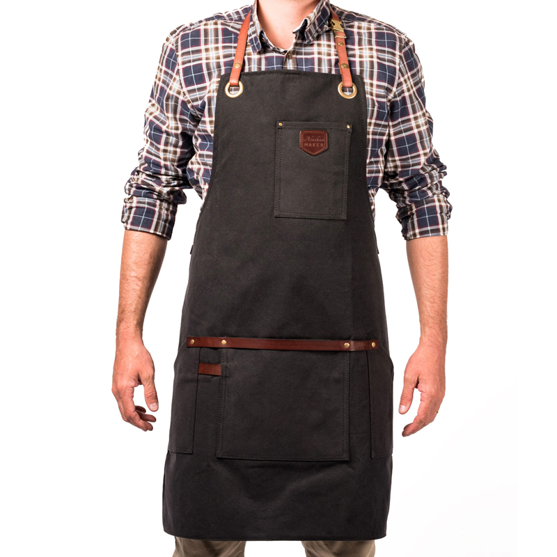 Black Apron Man
