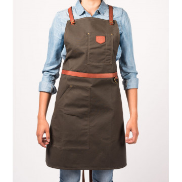 Apron No.239 - Brown