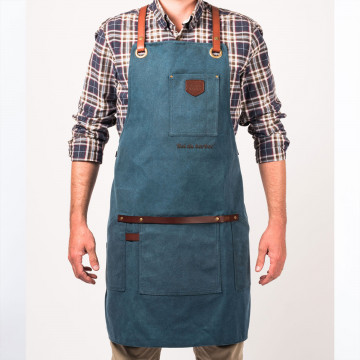 Apron No.547 - Navy Blue