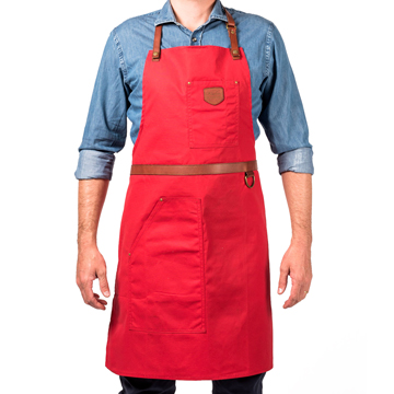 Apron No.239 - Red
