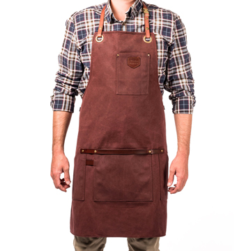 Apron No.547 - Burgundy